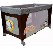 Aga Design HOLIDAY Bērnu Manēžā divi auksta ceļojumu gulta