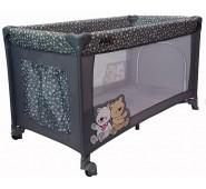 Aga Design HOLIDAY Bērnu Manēžā ceļojumu gulta