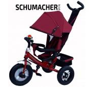 SCHUMACHER KID tricikls ar piepūšamiem riteņiem
