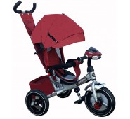 TURBO tricikls ar piepūšamiem riteņiem