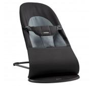 BabyBjorn Šūpuļkrēsliņš BABYSITTER BALANCE SOFT  BLACK/DARK GREY