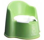 BabyBJORN POTTY GREEN Podiņš berniem