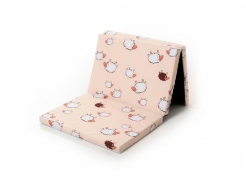 DANPOL Saliekams matracis 120x60 + soma uzglabāšanai , dažādas krāsas