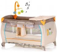 Hauck Babycenter Ceļojuma gulta