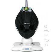 MamaRoo Infant Seat Classic Black Revolucionārs šūpuļkrēsliņš