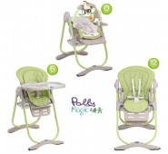CHICCO Barošanas krēsls POLLY MAGIC 3 in 1