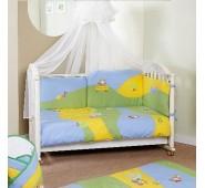 FERETTI DUETTO Bērnu gultas kokvilnas veļas komplekts