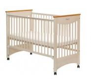 LAURA Bērnu gultiņa Drop sāniem