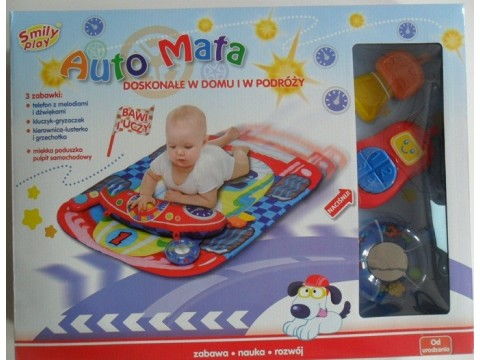 Smily play  Bērnu attīstošais paklājiņš